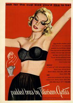 Miriam Gates Ad Campaign Fall/Winter 1956 @ MyFDB