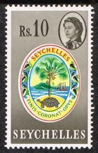 Badge of Seychelles