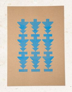 jwtwel, star pattern A3 poster. Risograph print; Cornflower. #Risograph #riso #print #poster #A3 #jwtwel #star #retro #pattern #patroon #blauw #lichtblauw #cornflower #blue #christmas #december #lifestyle #home #decoration #kerst #newyear #onsalenow #muskatbrown #dekijm #jwtwel @dekijm