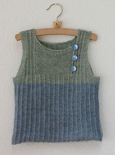Ravelry: Lark Vest pattern by Helga Isager