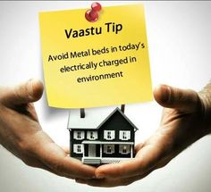 How about one more reason to follow us daily :  Get Vastu Tips from our experts:  Tip of the Day: Avoid Metal Beds in today's electrically charged in Environment !!  www.serenopune.com
