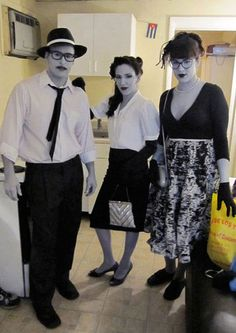 black and white halloween costume ideas - Google Search