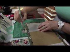 Heloísa Gimenes - Calendário em Cartonagem Pt2 Mulher.com 22/01/2014 - YouTube
