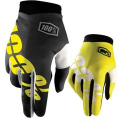 100% I-Track Youth Dirt Bike Off Road Riding Protection Motocross Gloves