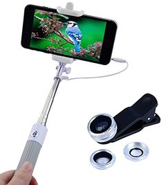 #selfiesticks #NeonLightsReviews #discountedforreview Love my new selfie stick by Apexel and comes with lens kit too.  Works great, non-slip handle, and holds my iPhone secure.   Lengthens to 31.5 inches and closes up to 8 for easy storage.  Great low price too.  Great Deal! Apexel Mini Foldable Wired Built-in Remote Shutter Selfie Stick Monopod + 3 in 1 Fisheye , Wide Angle, Macro Phone Lens Kit http://www.amazon.com/dp/B00D3F3O8Y/ref=cm_sw_r_pi_dp_eltexb0R4S3WD