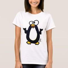 Pondering Penguin T-Shirt - click to get yours right now!