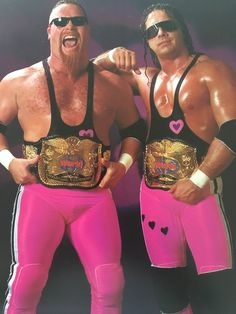 "WWE legend Jim ""The Anvil"" Neidhart has died at Neidhart was part of the Hart Foundation tag team along with his brother-in-law, Bret ""Hit Man"" Hart. The former wrestling champ was also the father of WWE wrestler and ""Total Divas"" star Natalya Neidhart. Wrestling Stars, Wrestling Wwe, Undertaker, Attitude Era, Hitman Hart, Wrestling Superstars, Crop Top Bikini, Lucha Libre, Nostalgia"