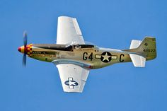 French registered North American P-51 Mustang F-AZSB - Meeting-Verdun.