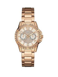Buy a Guess Sassy Guess Ladies Rose Gold Watch With Multifunctional Dial And Crystal Detailing. online at unbeatable prices by UK's top retail websites! Compare prices for Brand New, Used or Refurbished Guess Sassy Guess Ladies Rose Gold Watch With Multifunctional Dial And Crystal Detailing. and get the best deals offered by retailers at PhoneRetailers.co.uk.
