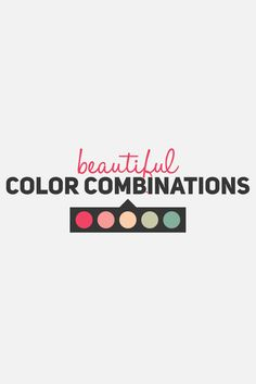 50 Beautiful Color Combinations (And How to Apply Them to Your Design)