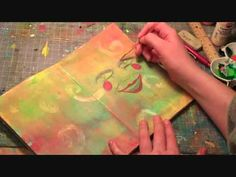 it's written (art journal) - YouTube