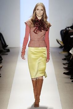 Tuleh Fall 2008 Ready-to-Wear Fashion Show - Alyssa Lambert