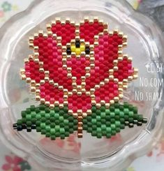 Beadwork Designs, Nativity Crafts, Alpha Patterns, Beaded Animals, Brick Stitch, String Art, Beaded Flowers, Bead Art, Beading Patterns