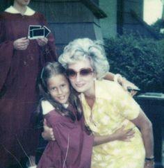 Cristina Cuomo with her mother, Regina Greeven, 1979.