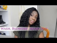 My Hair Care While under a Wig - YouTube
