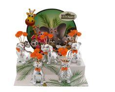 kit 10 pezzi animaletti profumatori con espositore cm 30x13x45 http://www.glesa.it/articoli/20553