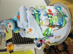 Another of Kristin's diaper cakes