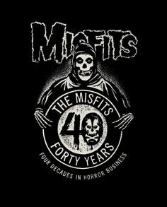 obeygiant I couldn't be more proud to share the logo I designed to celebrate the 40th anniversary of one of my favorite bands - Misfits! As a teenager growing up in South Carolina, the #Misfits were a revelation for me. Aggression, style, irreverence, AND parent-baiting lyrics... the Misfits served up the incendiary cocktail I had been searching for. The Misfits art is pure alchemy genius and the best example of remixing marginal subculture imagery into a cohesive cult brand in history.