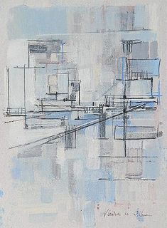 Buy online, view images and see past prices for Maria Helena Vieira Da Silva gouache and graphite. Invaluable is the world's largest marketplace for art, antiques, and collectibles. Abstract Shapes, Abstract Art, Gouache, Graphite, Fine Art, Gallery, Arts, October, Colour