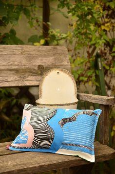 Kissen mit ÖkoTexStandard100 Flockenfüllung, für Innen und Außen gleichermaßen geeignet