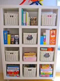 Playroom Organizing