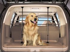 Keep your Jeep's seats free of paw prints with a proper fitting pet barrier. Check out the adjustable and expandable pet barriers we carry for the Jeep Grand Cherokee. 2013 Ford Explorer, Dog Barrier, Pet Food Storage, Dog Cages, Cool Vans, Honda Pilot, Pet Travel, Pet Safe, Jeep Grand Cherokee