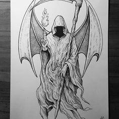 Dark Art Illustrations, Illustration Art, Occult, Tattos, Blackwork, Skulls, Dan, Instagram, Random Tattoos