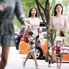 Ha Ji Won's outfit as Oh Hana in The Time We Were Not In Love