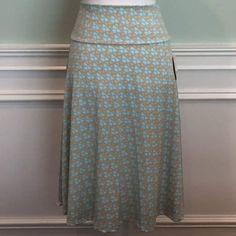 Lularoe Azure Skirt Size L