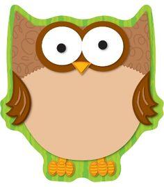Owl Notepad - Carson Dellosa Publishing Education Supplies