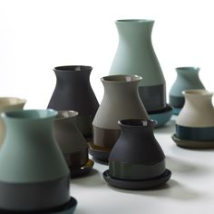 Bat Trang Vazen van Arian Brekveld voor Imperfect Design