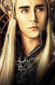 Lee Pace - so hot! One of my two faves from The Hobbit series (the other being Richard Armitage) both of whom have eyes that make we melt.