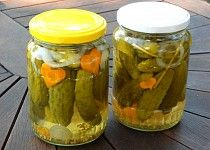 Kukuřičky ve sladkokyselém nálevu W 6, Pickles, Cucumber, Mason Jars, Canning, Food, Essen, Mason Jar, Meals
