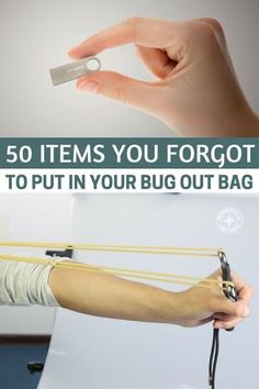 50 Items You Forgot To Put In Your Bug Out Bag — A bug out bag is never really complete. Not only do you have to rotate the food and batteries and make sure everything is still in working order, you also have to ask yourself two questions. #bugout #prepper #prepping #shtf