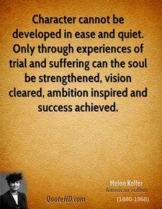 Helen Keller Quotes |  character