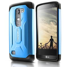 Evocel® LG Escape 2 / Spirit H443 Case [X-Generation Series] Slim Fit Dual Layer Design Hybrid Armor Protective Case For LG Escape 2 / LG Spirit H443 (AT&T / Cricket) - Retail Packaging, Steel Blue Evocel http://www.amazon.com/dp/B010QUNX5W/ref=cm_sw_r_pi_dp_T5dLwb1ABD8D3