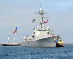 "USS Stockdale DDG-106 San Diego July 22, 2011 - 8 x 10"" Photograph"