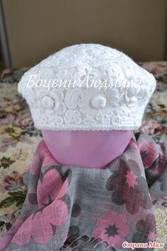 "Берет крючком ""Цветочный"" Knit Crochet, Beanie, Knitting, Sew, Inspiration, Projects, Fashion, Bedspread, Bed Covers"