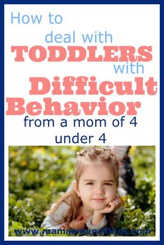 Learn what to do when your children are throwing tantrums.Learn how to discipline kids and prevention of difficult behavior. Tips from a Mama of 4 under 4