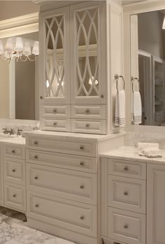 Stunning Vanity And Storage And Style!!! Wouldnu0027t Fit My Space But