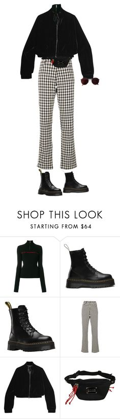 """Untitled #859"" by danceaddict15 ❤ liked on Polyvore featuring MISBHV, Dr. Martens, Wales Bonner, Tom Ford and Ray-Ban"