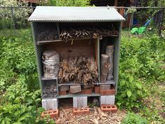The Creature Tower, a home for pollinators.