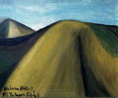 Nelson Hills 3, 1948 Colin McCahon New Zealand Art, Nz Art, Kiwiana, Venice Biennale, Modern Masters, Level 3, Visual Identity, Landscape Paintings, Artists