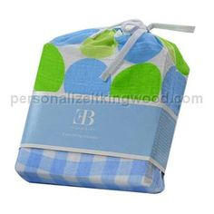 Swaddling Blanket 2 Pack - Blue & Green. Muslin swaddling cloths are perfect for newborns and young babies because they get softer everytime you wash them. Adding to our already popular line of muslin blankets are these cool new modern styles. Mixing classic blue with trendy green and bold designs, these baby blankets come in a stylish 2 pack packaged in an adorable drawstring bag perfect for storage and gifting.