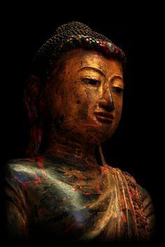 Extremely Rare 19C Standing Mandalay Burma Buddha #BB221