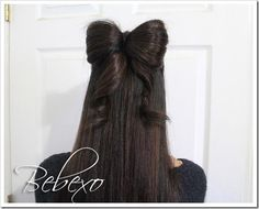 DIY Halloween Hair: DIY Halloween Hairstyles : DIY Lady Gaga Hair Bow
