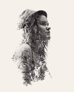 Somos la naturaleza: Nuevos retratos de la exposición múltiple de Christoffer Relander