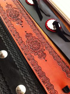 Guitar straps by Lenny Ray.