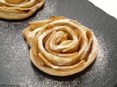 Rosas de hojaldre y manzana http://www.misthermorecetas.com/2014/04/30/rosas-de-hojaldre-y-manzana/#more-16580