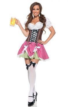 Oktoberfest jurkje Swiss Miss €28,95